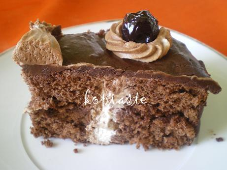 Bailey's flavoured chocolate cake
