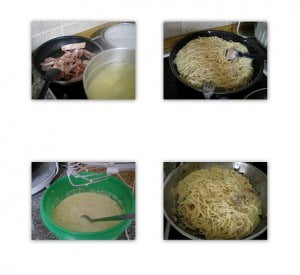 collage CARBONARA