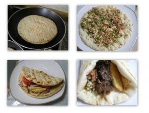 collage Lamb gyros