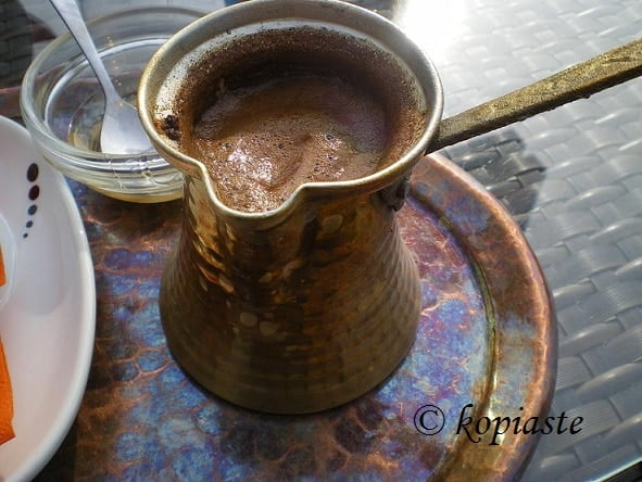 How to make Ellinikos Kaffes (Greek Coffee)