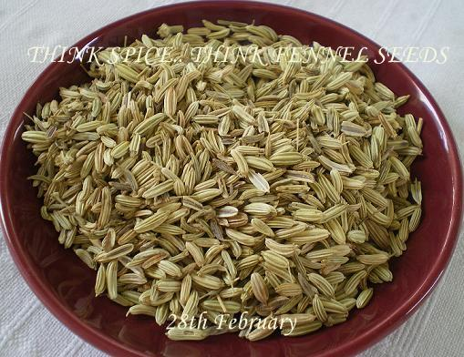 Fennel Seeds in Arabic Fennel Seed is The Oval
