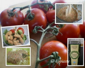 Collage pesto alla trapanese