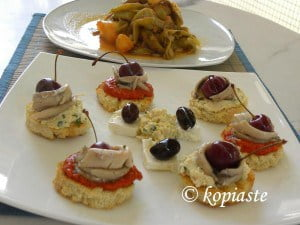 fassolakia and mezes