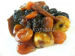 Marinated & Caramelized Poached Dried Fruit