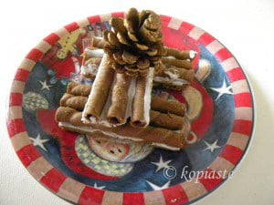 Gingerbread Cigar Cookies