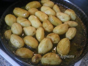 lemony potatoes