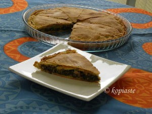 Black Bean spanakopita