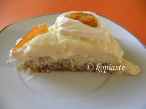 Kataifi Orange Pudding