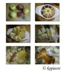 Collage Apple Sauce