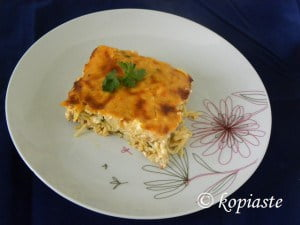 Deconstructed pastitsio