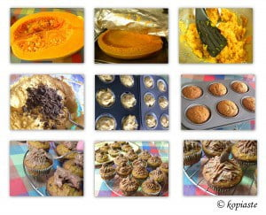 Collage Butternut Squash Muffins