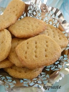 Peanut butter coookies