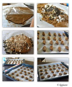 collage Petimezi Chocolate Cookies