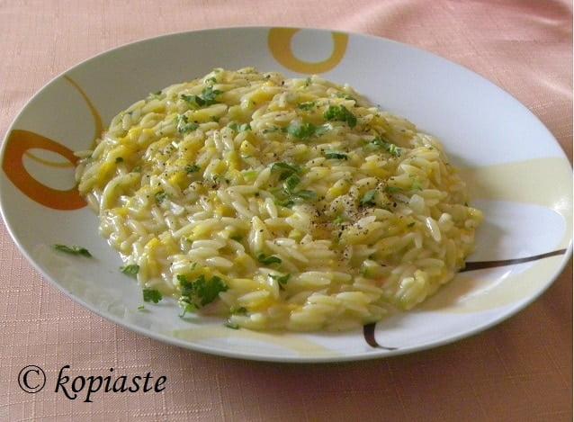 Shrimp Risotto two ways - Kopiaste..to Greek Hospitality