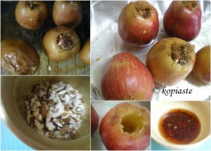 Collage Baked Apples