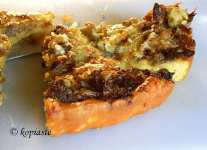 Onion and Sausage Tart2