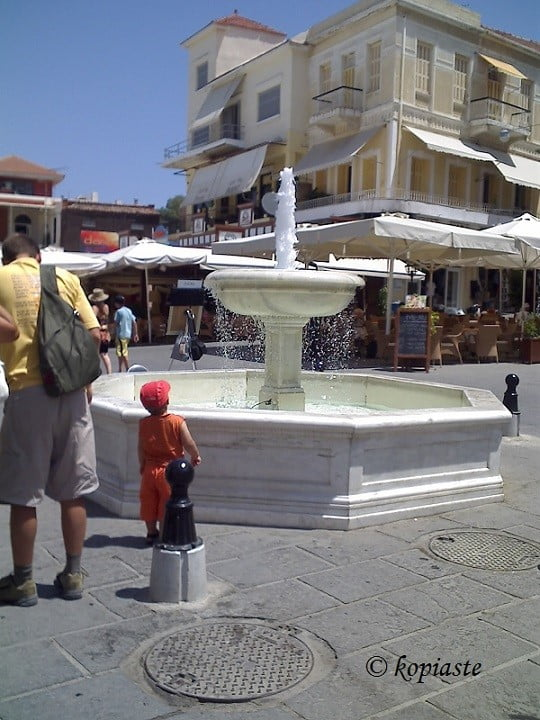 Chania fountain