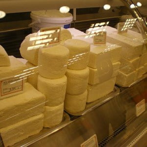 Greek cheeses